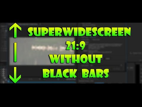 How to Export SuperWidescreen 21:9 Videos from Adobe Premiere (Without the Black Bars)