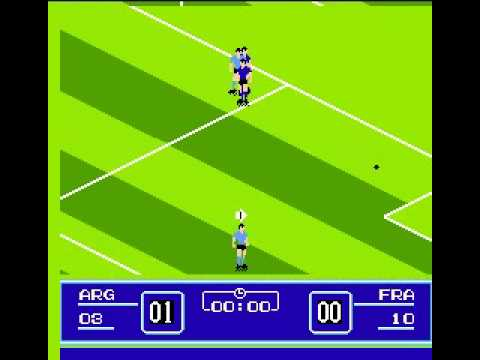 Goal!! (NES) World Cup 1st Game: Argentina vs. Francia