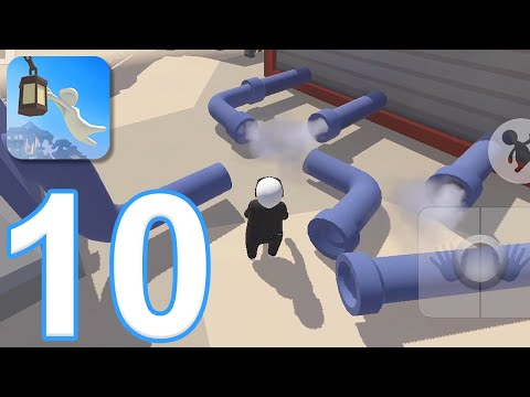 human-fall-flat-mobile---gameplay-walkthrough-part-10---level-11:-steam-(ios,-android)