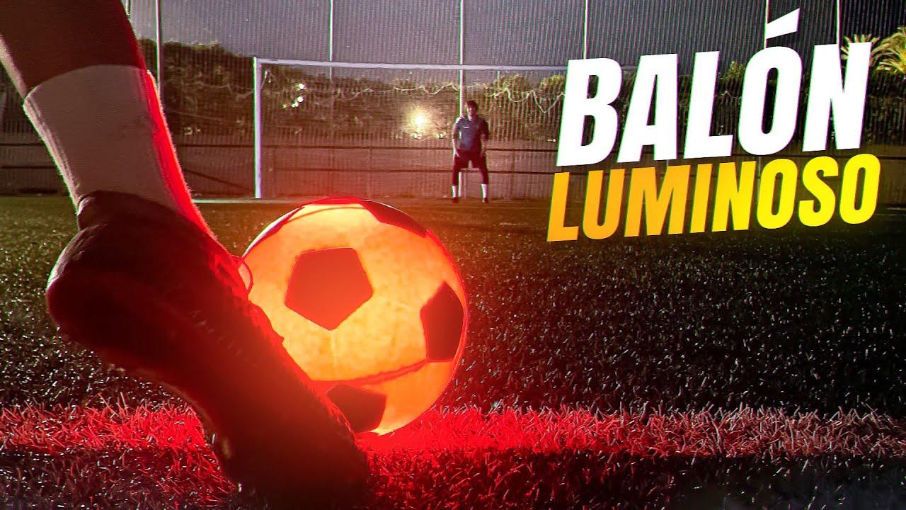 🟡 BALÓN de FÚTBOL con LUZ ⚽ ¡Retos de Fútbol!