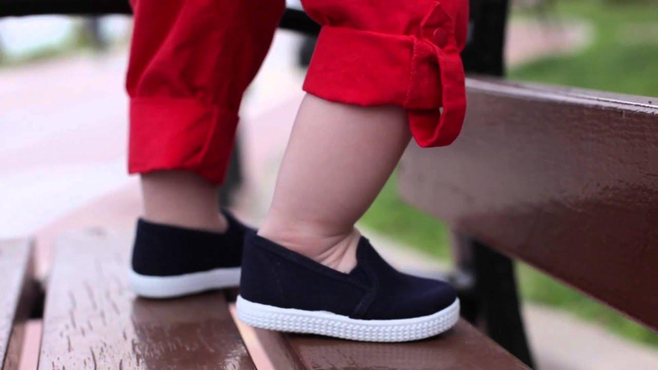 Zapatillas Lona Niños con Elásticos Suela de Goma , Pisamonas Zapatería Infantil Online , YouTube