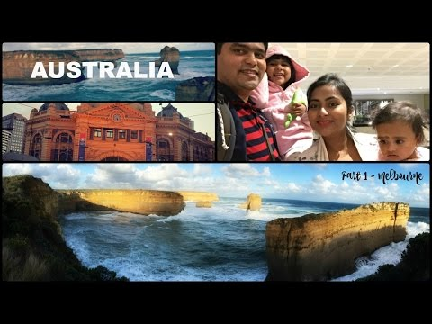 First Travel Vlog - Australia in Winter - Melbourne Sydney - Part 1 | Indian Family Travel Vlog