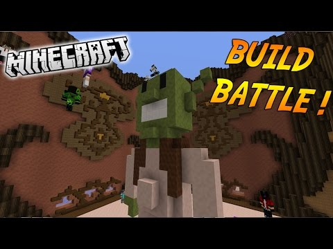 DAT SHREK ! | BUILD BATTLE ( Avec DarkHeaven) | Minecraft