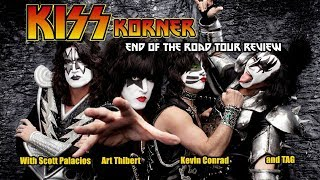KISS KORNER -Paul Stanley's fiery mishap and  End of the Road Tour Review