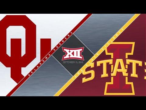 OU Highlights vs  Iowa State (09/15/18)