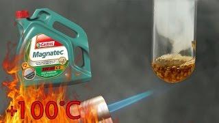 Castrol Magnatec 5W40 Jak czysty jest olej silnikowy? Test powyżej 100°C