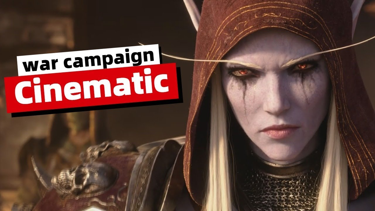 War Campaign Finale Cinematic - Saurfang VS Sylvanas   World of Warcraft   WoW Patch 8.2.5 thumbnail
