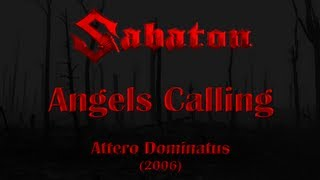 sabaton angels calling lyrics english deutsch
