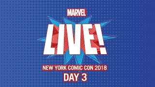 Marvel LIVE! at New York Comic Con 2018 - Day 3