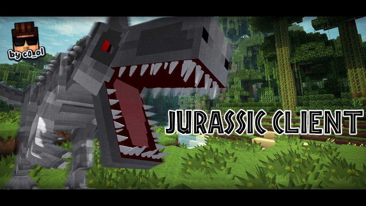 мод на майнкрафт 1.7.10 на динозавров #2
