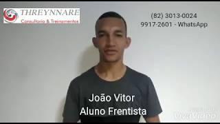 Depoimento aluno Curso Frentista - 2019