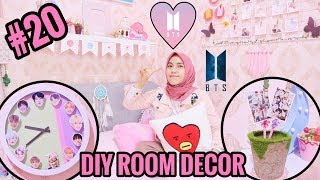 DIY ROOM DECOR #20 - BTS EDITION | KPOPERS