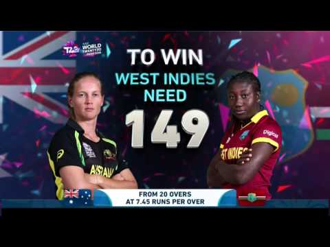 ICC WT20 Final Australia vs West Indies Womens Match Highlights