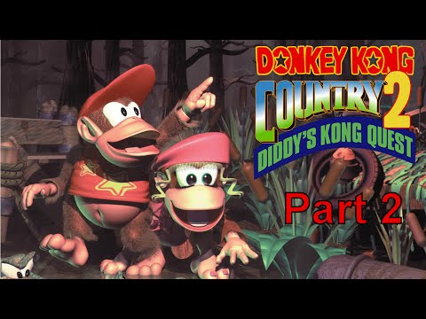 Let's Play - Donkey Country 2 - Part 2 - Hot Spaghetti Sauce