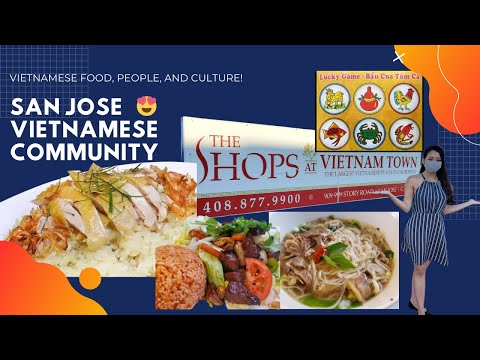 ? San Jose Vietnamese Community – The food, the people, the shopping.