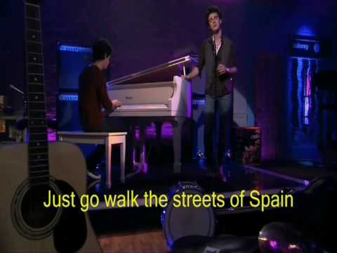 Kevin Jonas Left My Heart In Scandinavia With Lyrics HD
