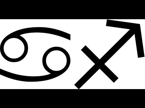 CÁNCER - SAGITARIO   (Compatibilidad)