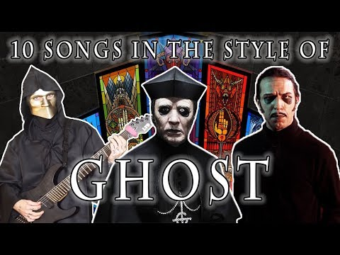 10 Songs in the Style of Ghost | Feat. EROCK