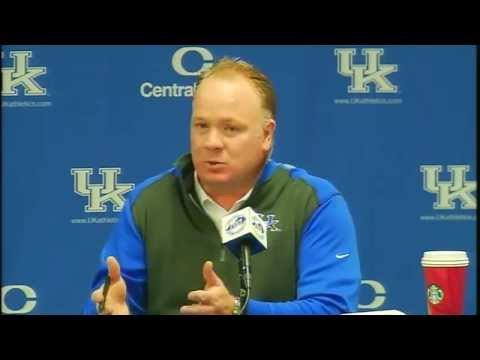 Kentucky Wildcats TV: Coach Stoops Press Conference