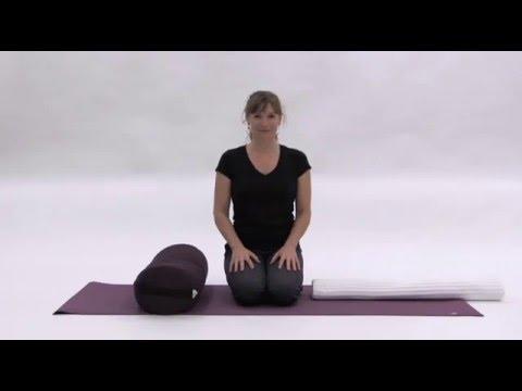 yoga poses for a better back restorative savasana  youtube