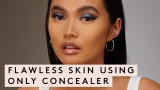 Flawless Skin Using Concealer