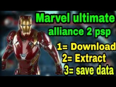 How To Download Marvel Ultimate Alliance 2 For Ppsspp With Link
