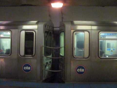 CTA Red Line Subway at Clark/Division