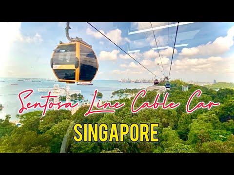 SENTOSA LINE CABLE CAR Singapore