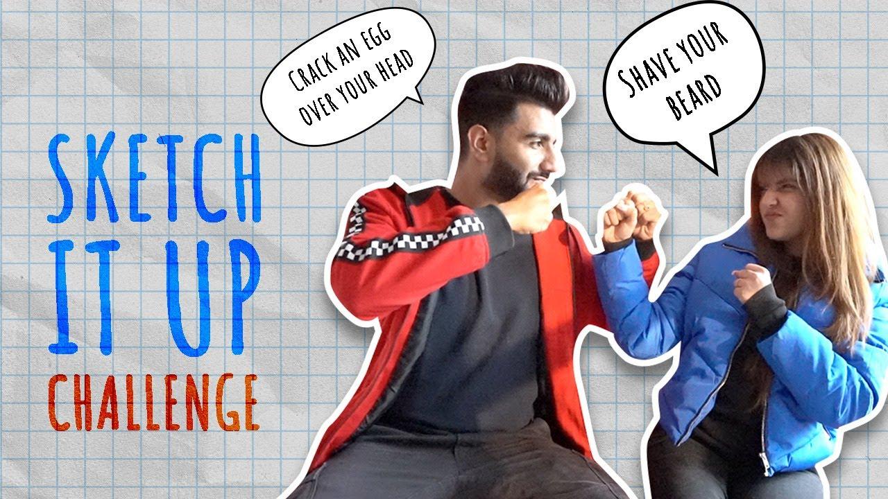Download SKETCH IT UP CHALLENGE   ft @Ashi Khanna   Mr.mnv  