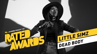 Little Simz - Dead Body Live | #RatedAwards 2015