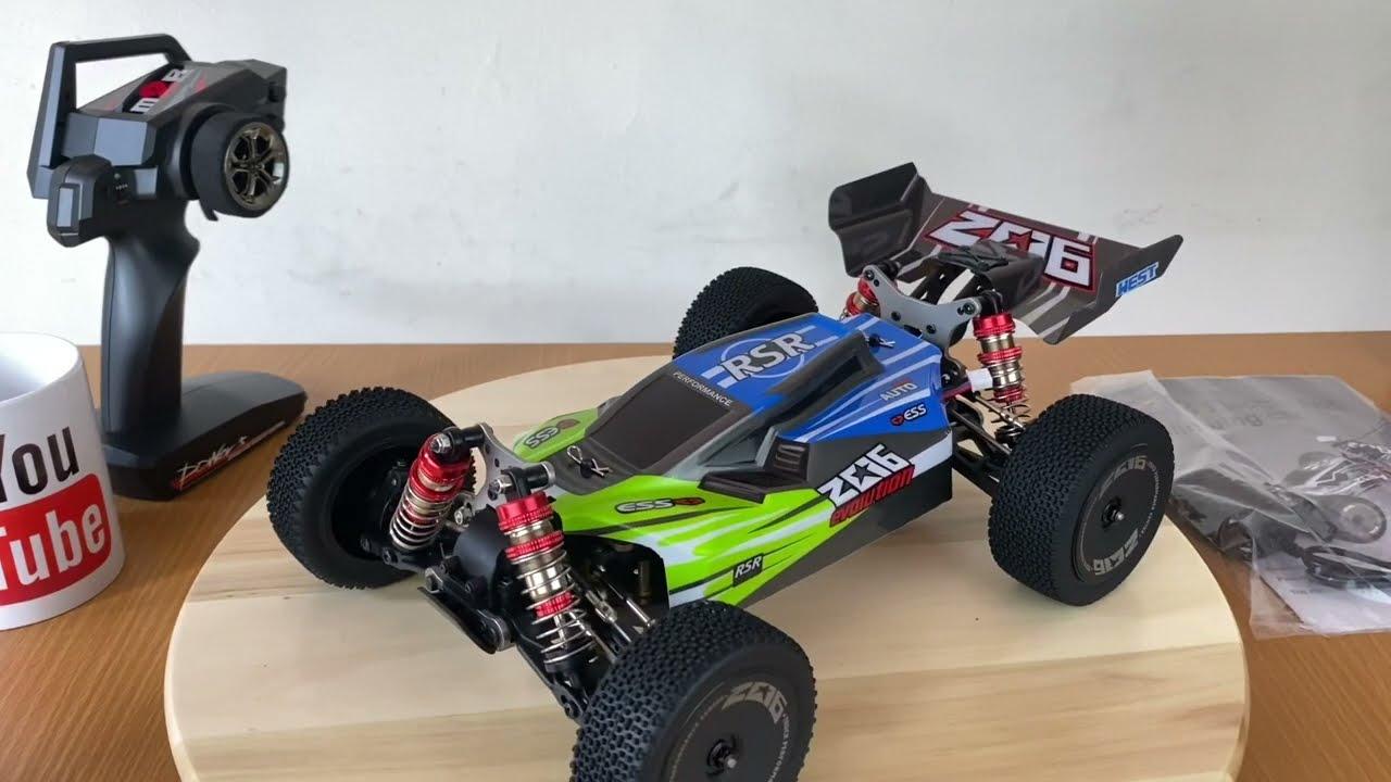 RC CAR BUGGY WLTOYS 144001 Test drive/unboxing/top speed dan FPV peke GOPRO HERO7!! SERU ABIS!!! картинки