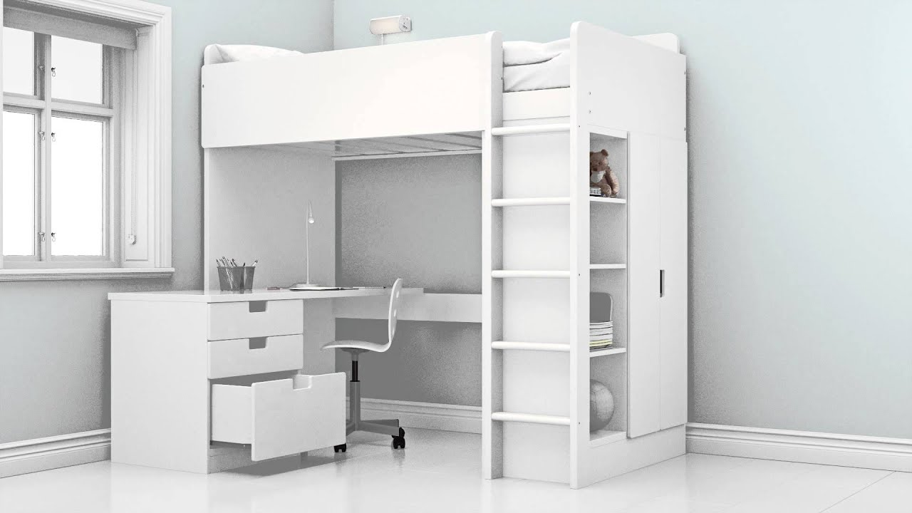 the possibilities of the new stuva children s loft bed. Black Bedroom Furniture Sets. Home Design Ideas
