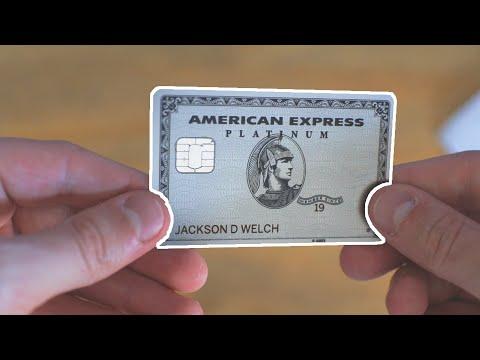 American Express Platinum Card Quick Unboxing