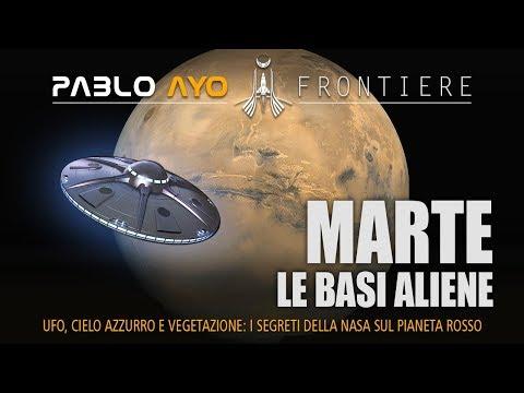 Marte le Basi Aliene