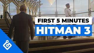 Watch the First 5 Minutes of Hitman 3's Opening Dubai Mission