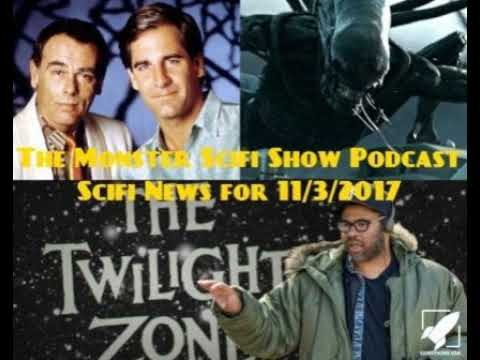 The Monster Scifi Show Podcast - Scifi News for 11/3/20217