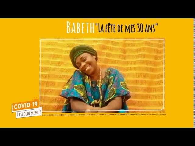 C19CQM - HUMOUR - EMISSION 6 Babeth La fête de mes 30 ans