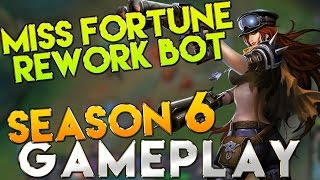 Miss Fortune Season 6 Gameplay Bot ADC - League of Legends Season 6 Gameplay