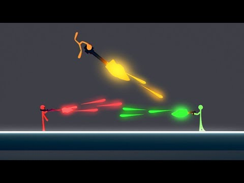 WORLD'S BEST STICK FIGHTER GAME EVER! (Stick Fight #1)