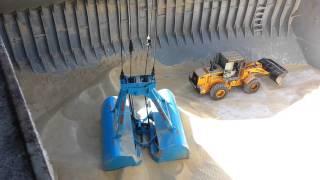 LIEBHERR LHM 320 - vinç çalışması ( tunisie sucre first sugar)