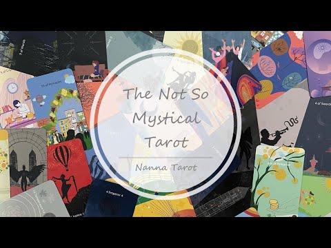 開箱  未必神秘塔羅牌 • The Not So Mystical Tarot // Nanna Tarot