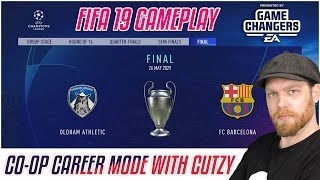 NEW FIFA 19 GAMEPLAY - CHAMPIONS LEAGUE FINAL - CO OP WITH CUTZY