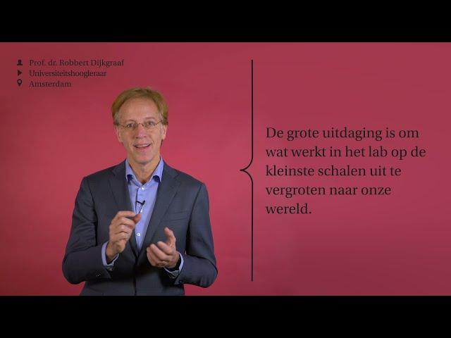Wat heeft de maatschappij aan quauntummechanica? | Ask UvA