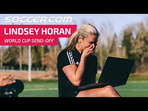 Lindsey Horan's World Cup Send-off
