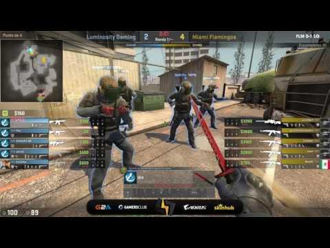 [ES] Miami Flamingos vs Luminosity Gaming | Dreamhack Valencia Closed Qualifiers | Overpass