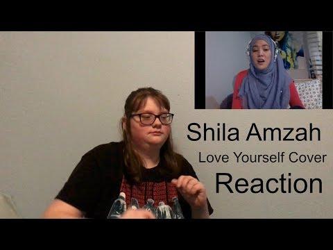 Shila Amzah - Love Yourself cover Reaction