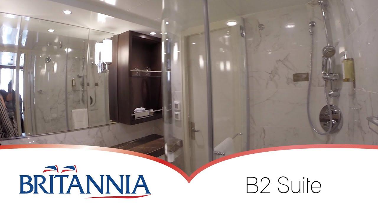 P Amp O Britannia Cabins Suite Youtube