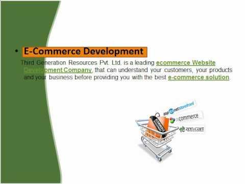 Search Engine Optimization(SEO Company India), E-commerce Development
