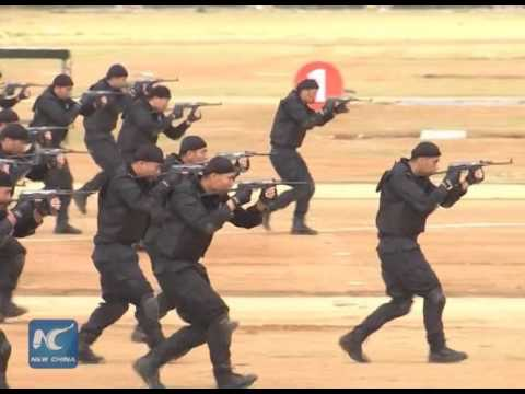 Largest anti-terror drill in SW China's Guangxi