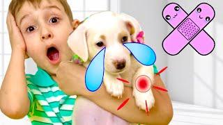 Руслан и его история для детей про собачку | РОМАРИКИ